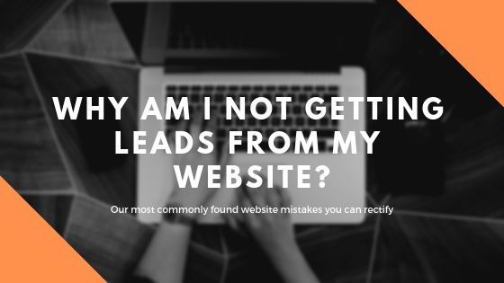 Why am I not getting leads from my website_